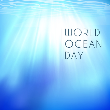 World ocean day. Element of image furnished by NASA 写真素材