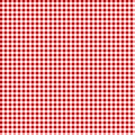 ピクニックテーブルクロス。シームレスなチェッカ付きベクトルパターン。ヴィンテージカラーのチェック柄の生地のテクスチャ。 写真素材 - 103601141