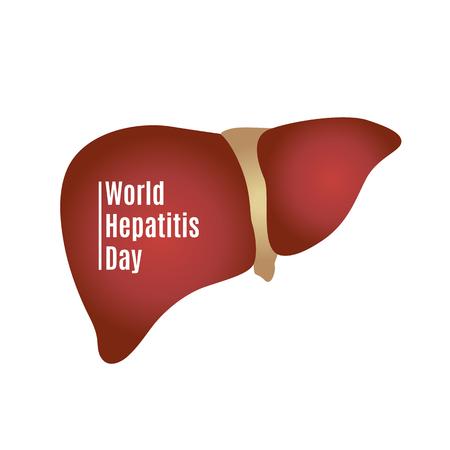 世界肝炎の日のイラスト。 写真素材 - 103601145