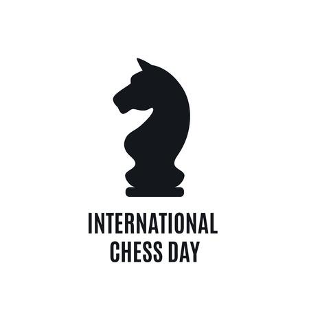 7月20日 - チェスコンセプトの国際デー。古いボード上のチェスゲームの始まり 写真素材 - 103601231