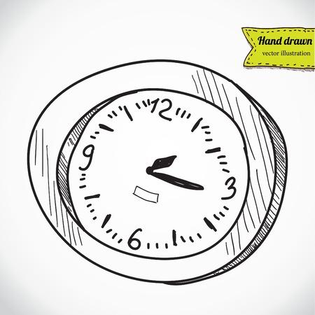 clock timer alarm , vector illustration Vector