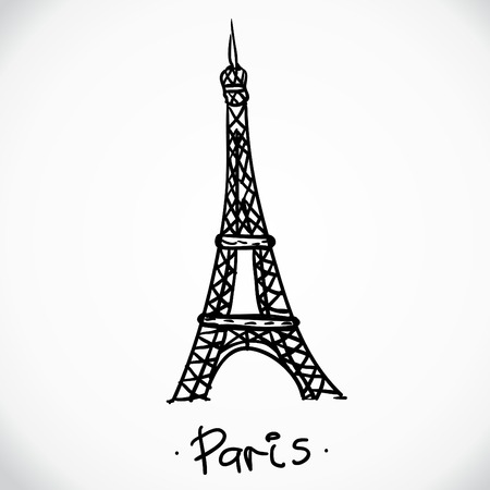 vector Eiffel tower 向量圖像