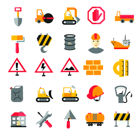 cars race: Collection of modern shadow flat icon. Traffic and transport sign. Illustration