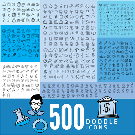 Ensemble de l'icône 500 de qualité, les icônes des médias, Money icons, icônes mobiles, Web icons, icône de vacances, icônes Avatar, icônes des flèches, icône Outils