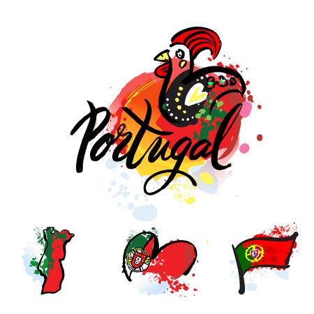 ポルトガル旅行先のロゴ