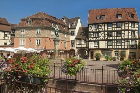 urban landscape of the historical town of Colmar in France Stock Photo - 11981419