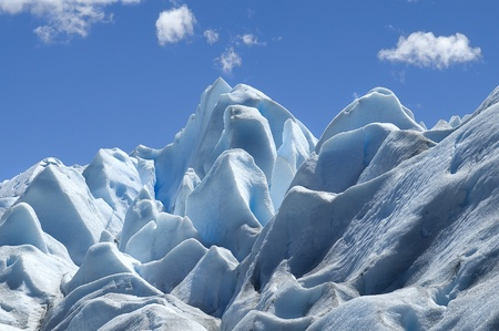 photo was taken on the glacier Perito Moreno photo
