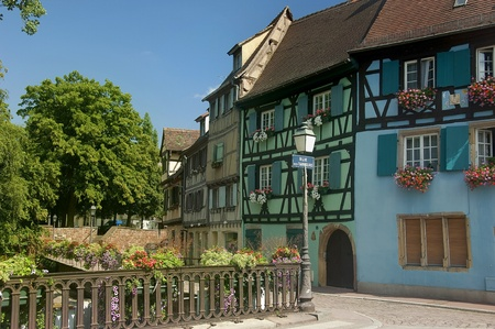 urban landscape of the historical town of Colmar in France Stock Photo - 12006168