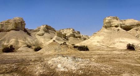 judean: fragment of the Judean Desert near The Dead Sea