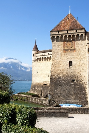 Chateau de Chillon,lake Geneva,montreux swiss Stock Photo - 12045924