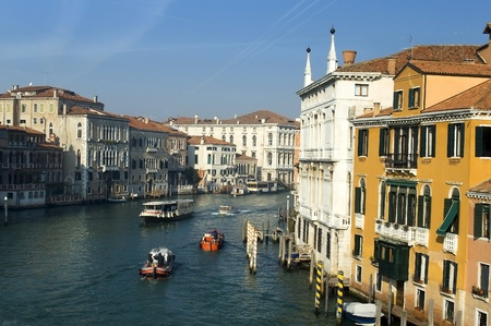 Venice,view of the Grand Canale Stock Photo - 12182318