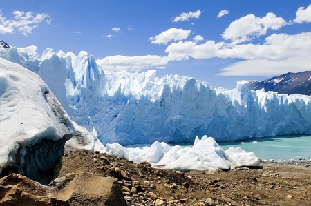 beautiful Glacier Perito Moreno in Argentina Stock Photo - 12179826