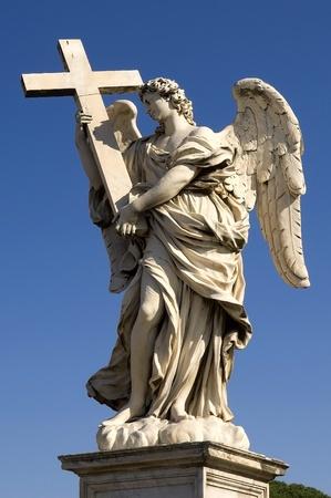 photo was taken on the bridge Sant'Angelo in Rome Stock Photo - 12179821
