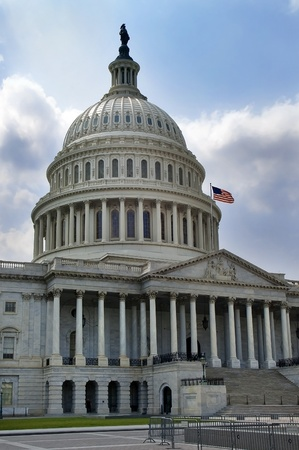 Capitol Building in Washington, DC, USA.