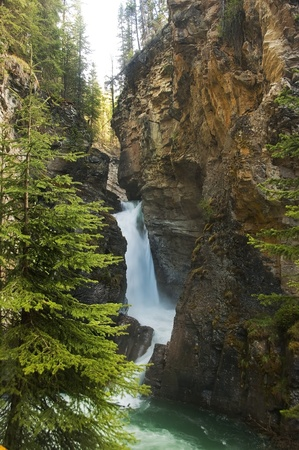 picturesque waterfall rapid Stock Photo - 12518155