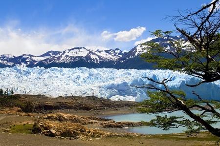 beautiful Glacier Perito Moreno in Argentina photo