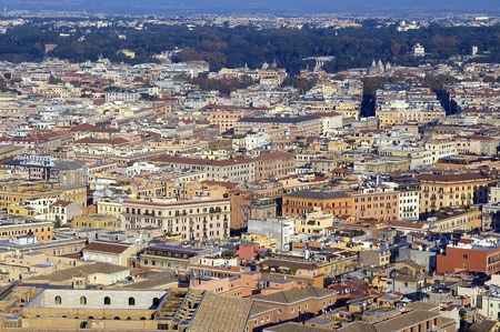 panoramic view of Rome Stock Photo - 12522241
