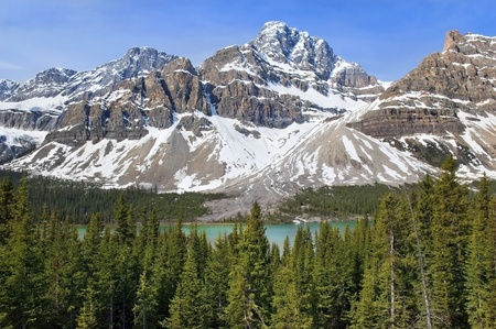 most beautiful landscapes in Banff National Park, Alberta, Canada Stock Photo - 12520444