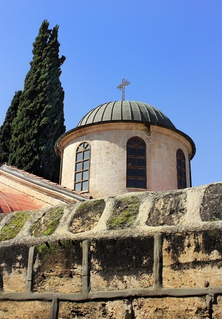the church of the first miracle, Kefar Cana, Israel Stock Photo - 12764811