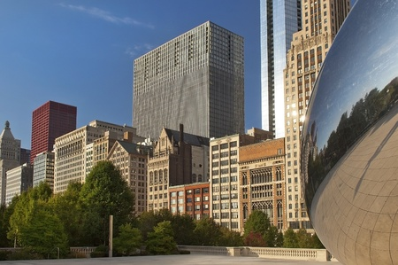 the Chicago high-rise buildings Stock Photo - 12764743