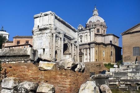 the Forum Romano Stock Photo - 12764767