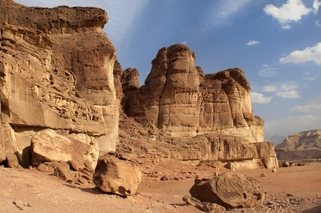 Timna  Park, Arava Desert Stock Photo - 12764780