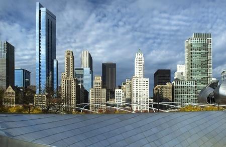 buildings on water: Chicago edificios de gran altura