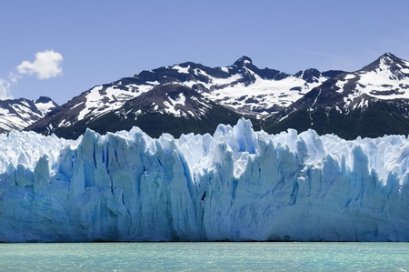 beautiful Glacier Perito Moreno in Argentina