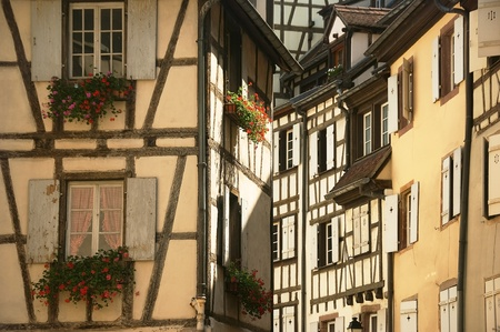 urban landscape of the historical town of Colmar in France Stock Photo - 12790491