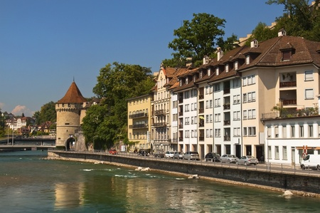 Lucerne, Switzerland, the view from the waterfront Stock Photo - 12931026