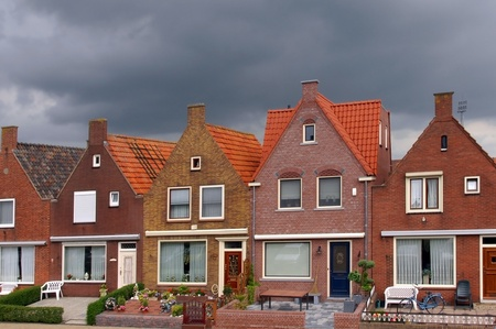 volendam: fishing village of Volendam holland