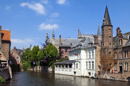 in Ghent, Belgium Stock Photo