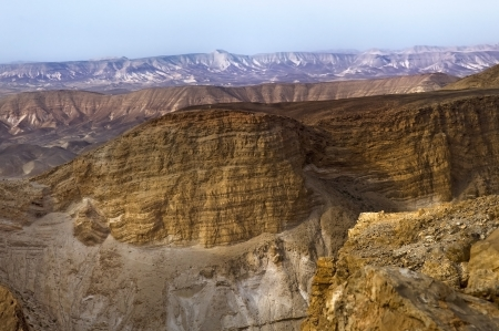 Mountain Canyon near the Dead Sea, Israel photo