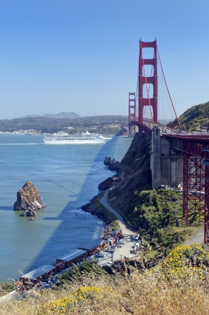 Golden Gate Bridge in San Francisco ,  California, USA Stock Photo - 14126212