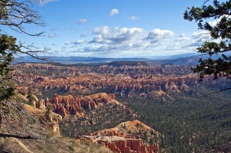 magnificent views of Bryce Canyon National Park, Utah, USA photo