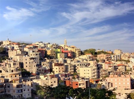 Arab village near Nazareth, Lower Galilee, Israel