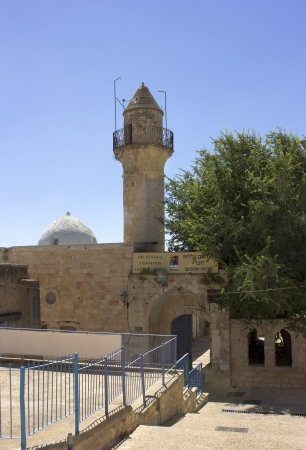 Mosque in the Jewish religious quarter in Safed, Upper Galilee, Israel Stock Photo - 14388406