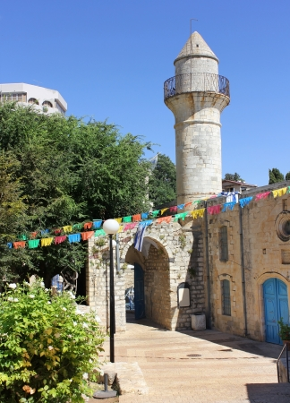 Old Turkish mosque in Safed, Israel Stock Photo - 14388407