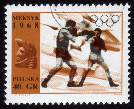 boxing ,Olympic games in Mexico Stock Photo - 14597265
