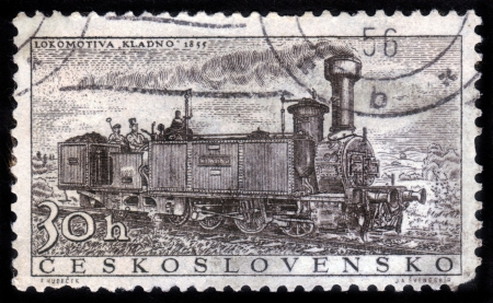 Kladno retro locomotive