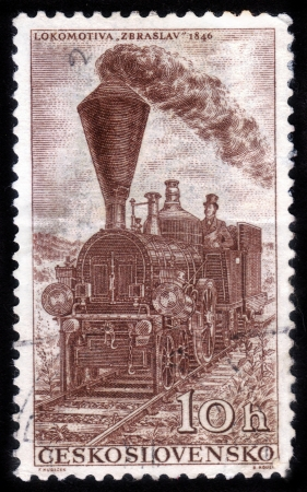 puffing: zbraslav retro locomotive