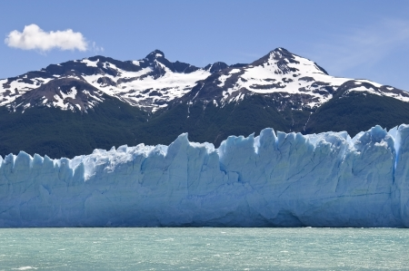 water, ice and snow of Argentina , Glacier Perito Moreno photo