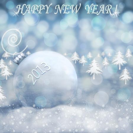 happy new year 2013 Stock Photo - 16592923