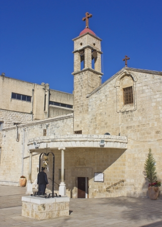 Greek Orthodox Church of the Annunciation, Nazareth, Israel Stock Photo - 16593864