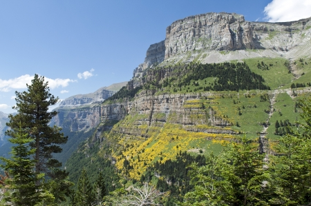 wild landscape in the Spanish Pyrenees Stock Photo - 16593865