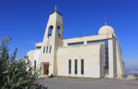 salesian: The New Maronite Church in Nazareth , Israel