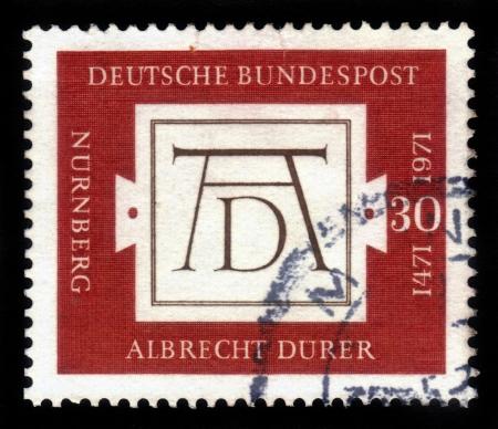 Albrecht Durer's Signature Stock Photo - 17403146
