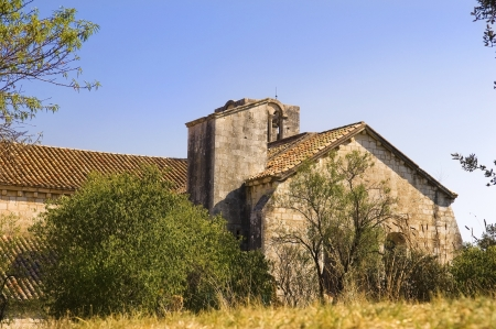 lourmarin: old house, Luberon, Provence, France Stock Photo
