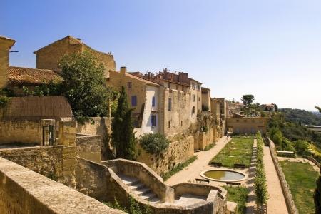 picturesque city landscape of Luberon, Provence, France photo