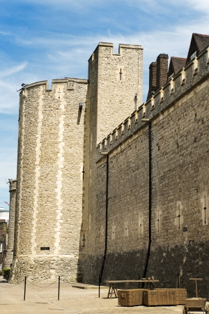 view of the fortress wall, the Tower of London photo